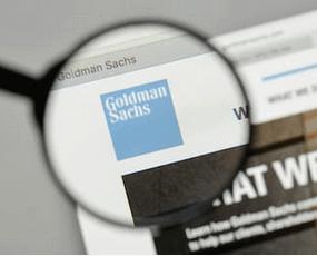Looking at Goldman Sachs